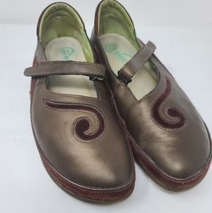Naot Mary Jane Leather Loafers, Size 42 (11 US)